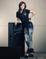 Dara for frijol, haba Pole Jeans