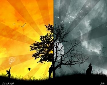 日 and Night
