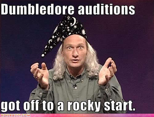 Dumbledore Auditions