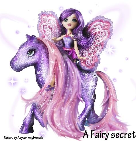 Fairies abd pony   my Fanart!!