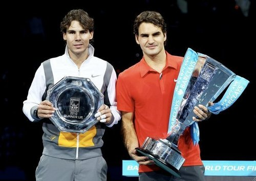 Federer won Tournament Champions !