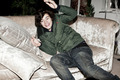 Flirty Harry Chilling Out At The X Factor House :) x