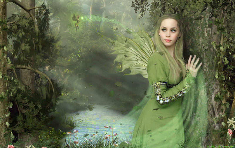 Forest Fairy - Fantasy Photo (17357079) - Fanpop: http://www.fanpop.com/clubs/fantasy/images/17357079/title/forest-fairy-photo