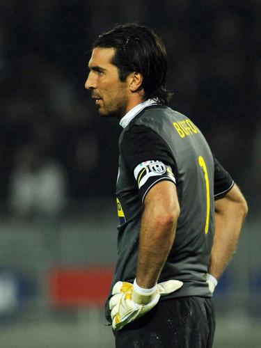 G. Buffon playing for Juventus