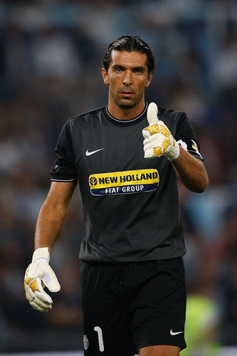 G. Buffon playing for Juventus