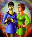 Genderbend Spirk: Jamie Kirk and T'Pock