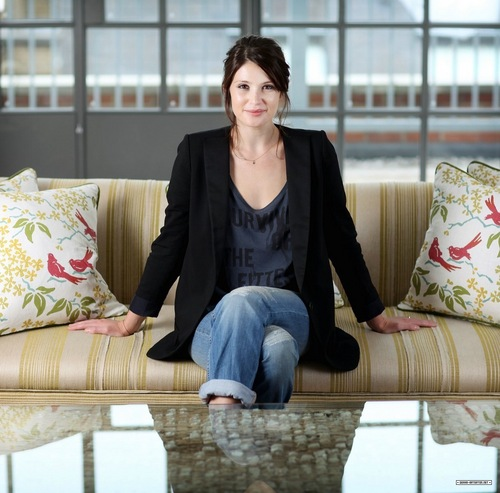 Gemma Arterton wallpaper with a living room and a couch called Guardian  photoshoot (2010)