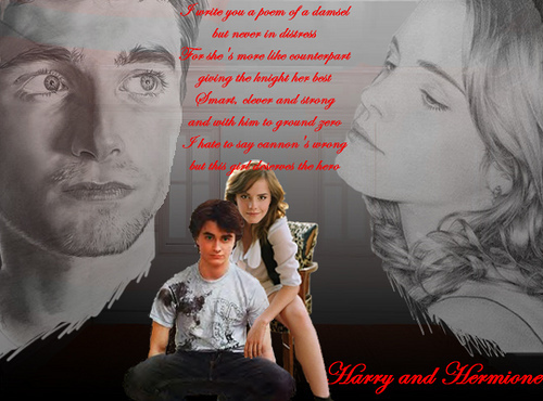 HARRY AND HERMIONE - I LOVE YOU