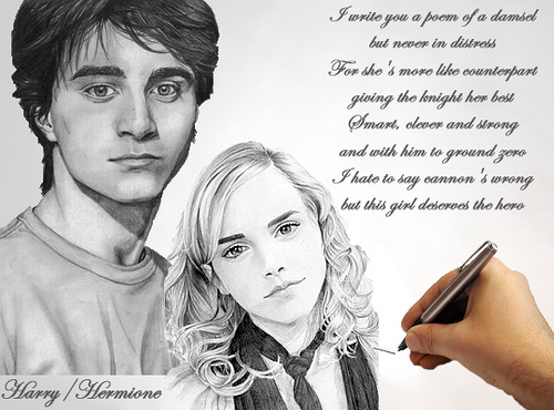 HARRY AND HERMIONE - I amor YOU