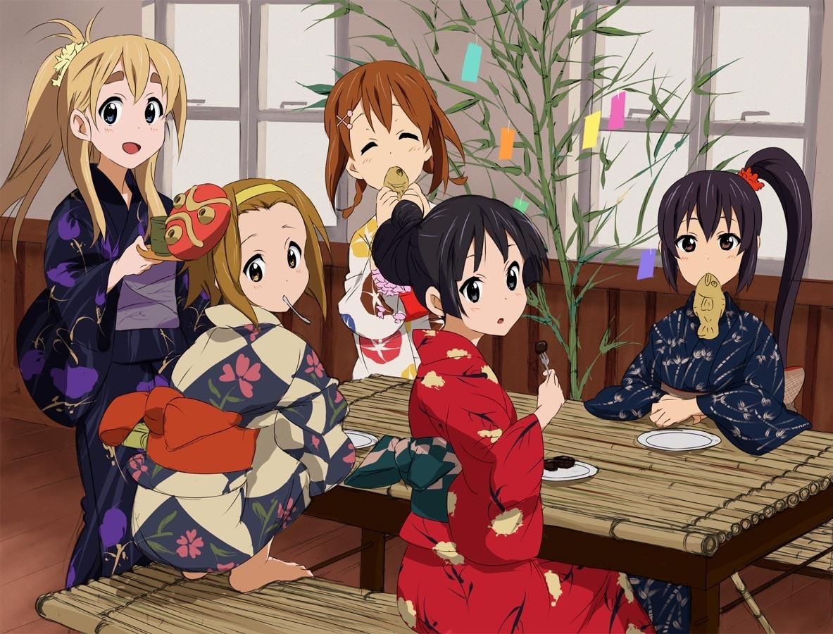 Anime Girl K-On