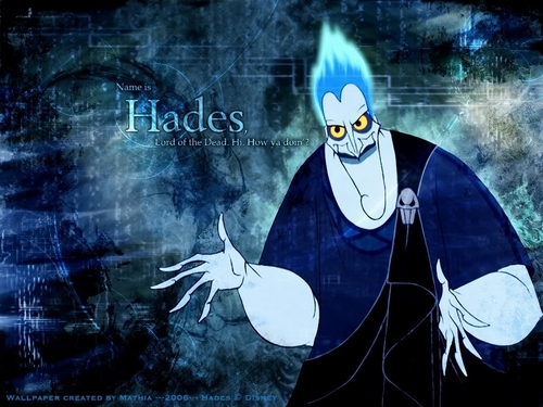Disney Villains wallpaper possibly with anime entitled Hades