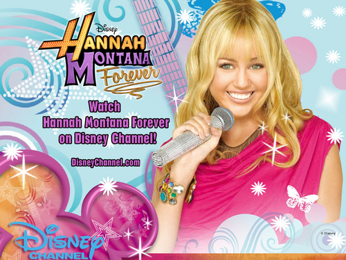 Hannah Montana Forever Exclusive Disney các hình nền bởi dj!!!