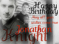 Happy Birthday Jonathan Knight