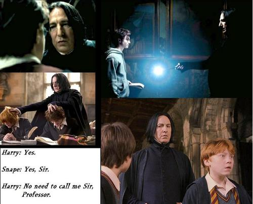 Harry And Snape - Humourous moments