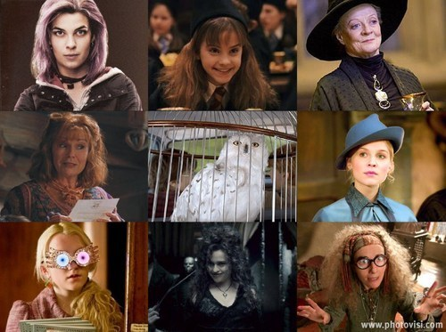 Harry Potter Females-PRETTY!