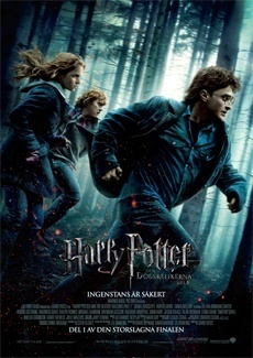 Harry Potter and the deadly hallows part 1 (movieposter) (in Sweden)