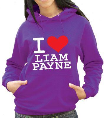 I Love Liam Payne Hoodie :) x