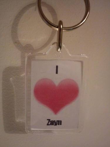 I cinta Zayn Keyring (I Own This:) (He Owns My jantung & Always Will) :) x