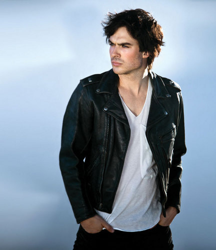 迷失 壁纸 with a well dressed person and an outerwear called Ian somerhalder- photoshoot vegas magazine 2010