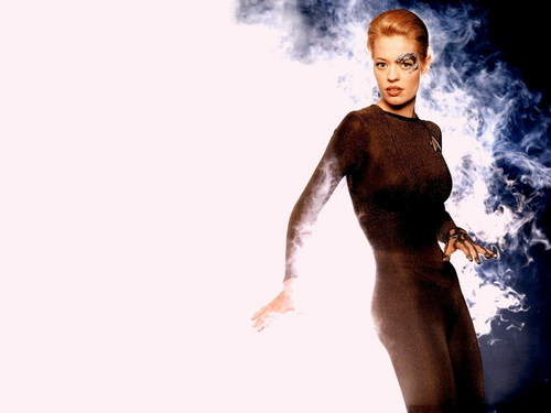 Jeri Ryan images Jeri as Seven of Nine HD wallpaper and background photos