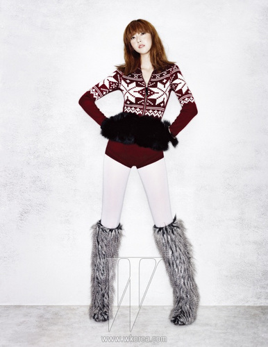 Jessica/Wild Nordic Girl - W Korea Dec 10