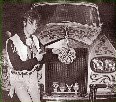 John and his Rolls Royce