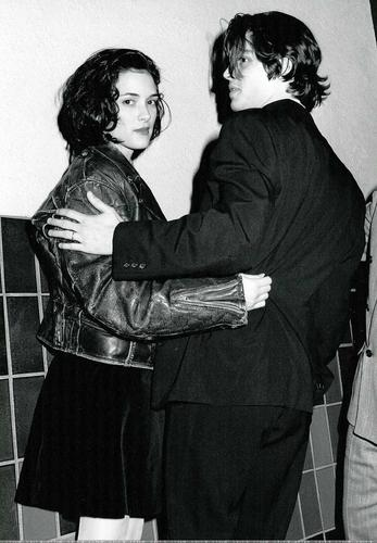 Johnny and Winona - winona-ryder Photo