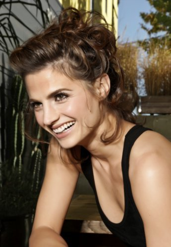 Stana Katic fond d'écran probably with a portrait entitled Just Stana