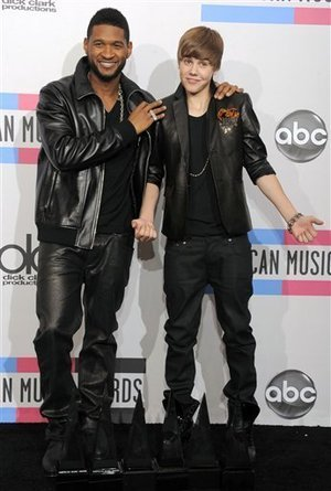 Usher And Justin Bieber 2013