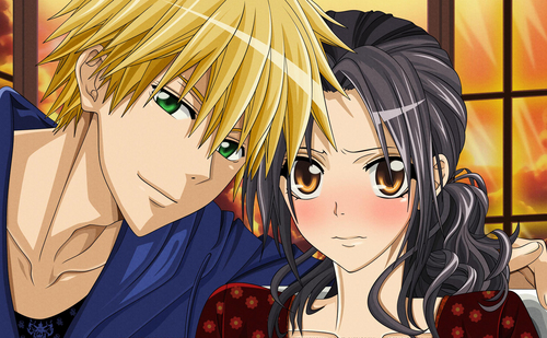 Kaichou wa Maid-sama wallpaper possibly containing anime titled Kaichou wa Maid-sama!