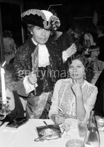 Karl Lagerfeld and Princess Soraya