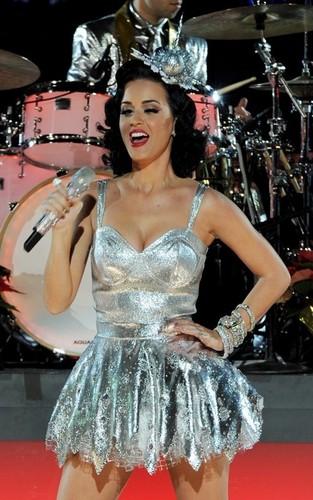 Katy Perry's Grammy Nominations konzert Rehearsal