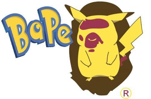 Bathing Apes wallpaper entitled Pikachu Bathing Ape