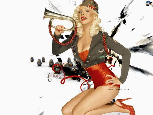 Lovely Christina wallpaper