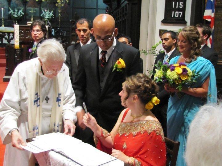 Luke's sister Rebecca get married with Surya