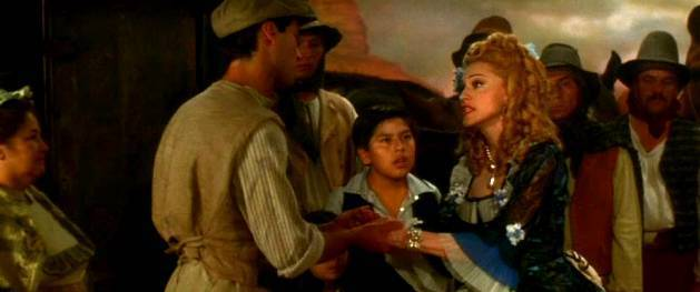 "The 90s Madonna As Eva Perón In The Film ""Evita"""