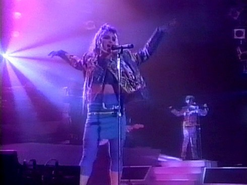 """madonna Live From Detroit, Michigan - """"The Virgin Tour"""""""