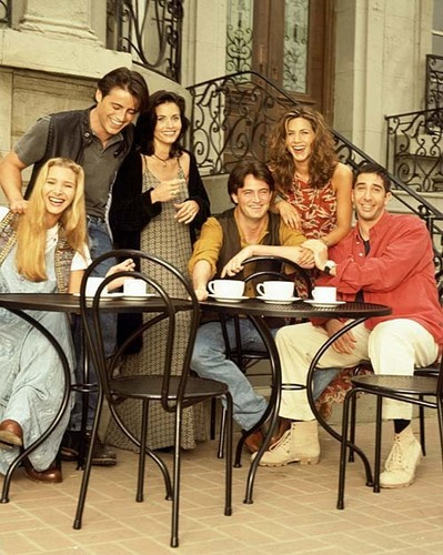 Matt LeBlanc, Courteney Cox, Jennifer Aniston, Lisa Kudrow, Matthew Perry, David Schwimmer