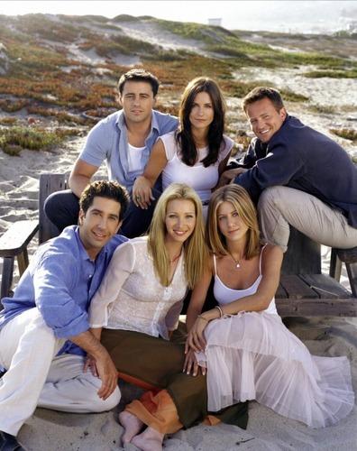 Matt LeBlanc, Courteney Cox, Matthew Perry, David Schwimmer, Lisa Kudrow, and Jennifer Aniston
