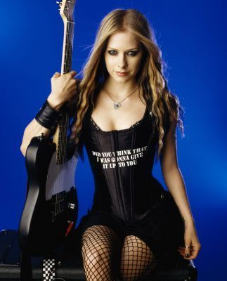 Avril Lavigne wallpaper possibly with a hip boot entitled Maxim 2006