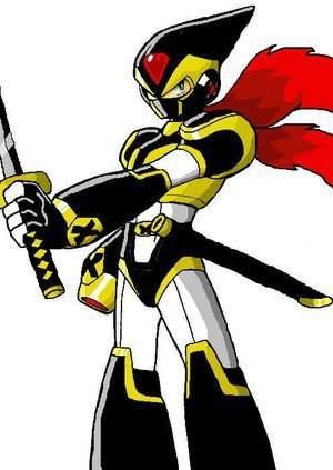 Megaman x (shadow armor)