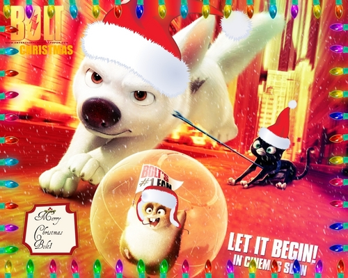 Merry Christmas Bolt! <3 - disneys-bolt Photo