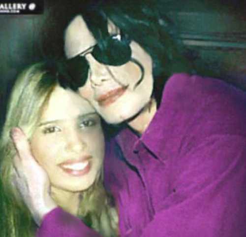 Michael Jackson and Paola