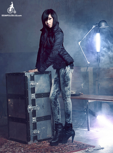 Minzy For 콩 Pole Jeans