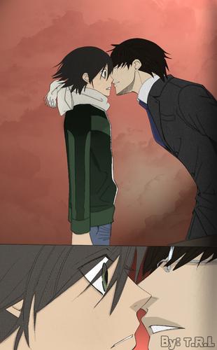 Misaki and Haruhiko