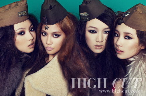 Miss A For High Cut - miss-a Photo
