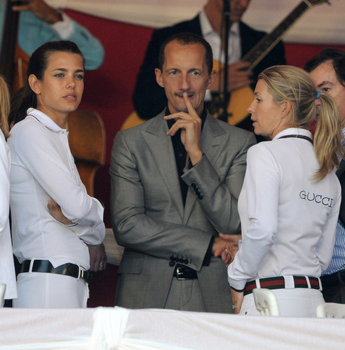 princess charlotte Casiraghi wolpeyper entitled Monte-Carlo Jumping International