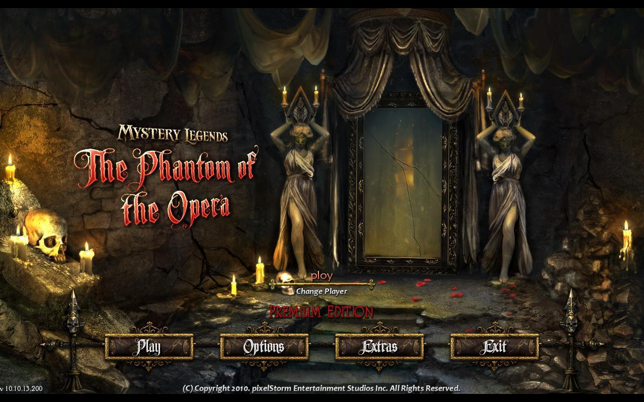 The phantom of the opera mystery legends the phantom of the opera