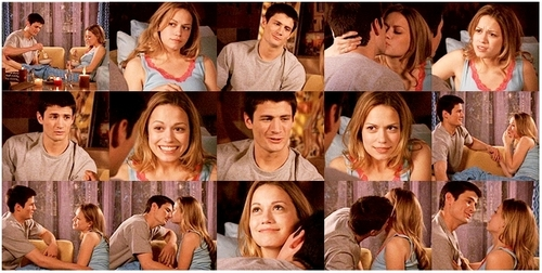 Naley wallpaper probably with a bridesmaid and a portrait entitled Naley