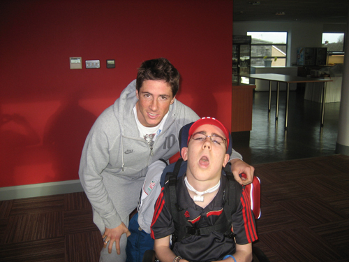 Nando - Jacob's special Melwood day